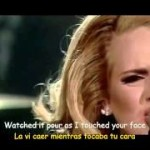 Adele - Set Fire To The Rain ( En concierto )
