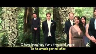 Christina Perri - A Thousand Years ( Lyrics )