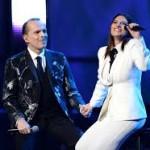 Miguel Bosé ft Laura Pausini - Te Amaré ( En vivo )
