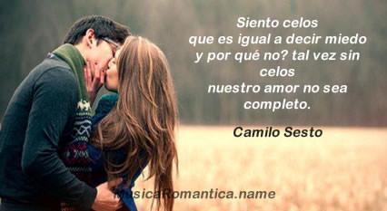 Frases De Amor De Canciones De Camilo Sesto