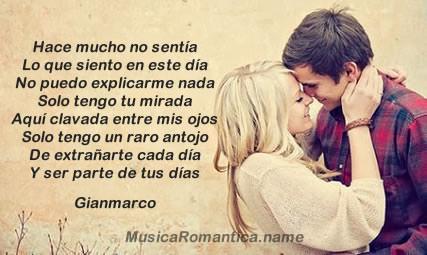 Frases De Amor De Canciones De Gianmarco