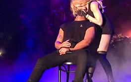 beso de Madonna y Drake