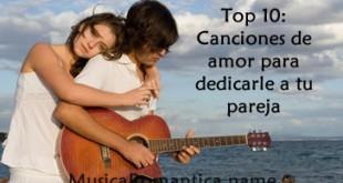 canciones de amor para dedicar a tu pareja
