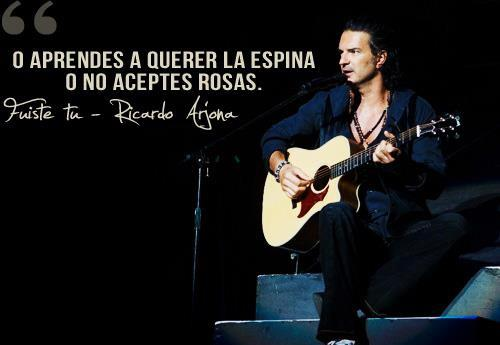 Frases Con Imagenes De Ricardo Arjona