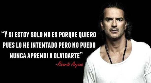 Frases Cortas De Ricardo Arjona
