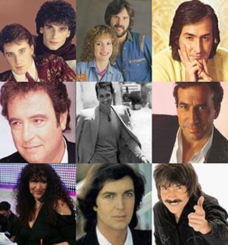 cantantes del recuerdo en español